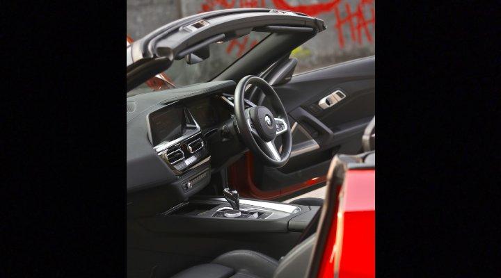 BMW Z4 M40i-Interiors