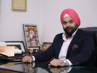 Mr Avneet Singh Marwah Director and CEO Super Plastronics Pvt Ltd