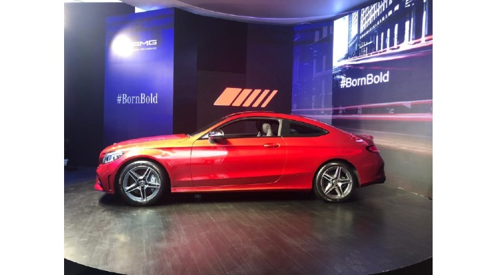 Mercedes AMG C43 Coupe front profile 1
