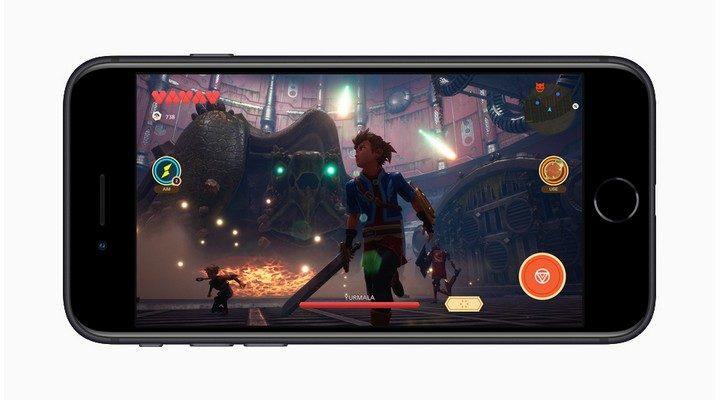 Apple iPhone SE 2 gaming