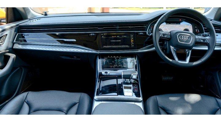 Audi Q8 interiors