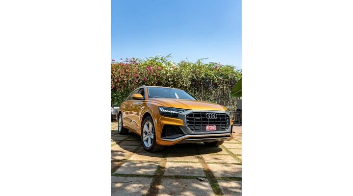 Audi Q8 Front View
