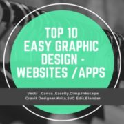 Top 10 easy graphic design websites