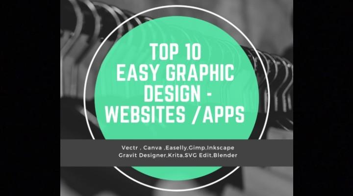Top 10 easy graphic design websites