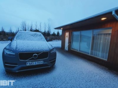 Iceland Travelogue Volvo xc 90