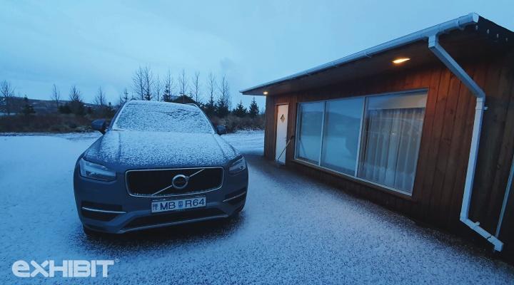Iceland Travelogue Volvo xc 90
