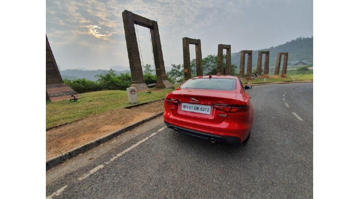 Jaguar XE back profile