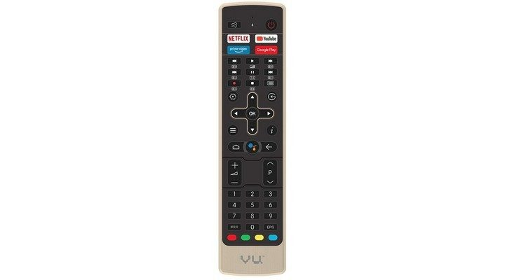 Vu 4K Android Smart TV - Remote
