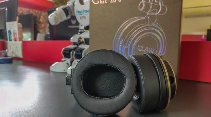 claw SM100 cushioning of headphones