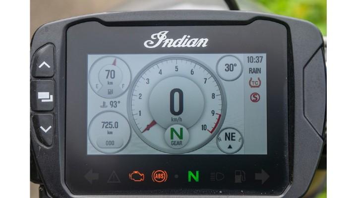 Indian ftr 1200 tachometer