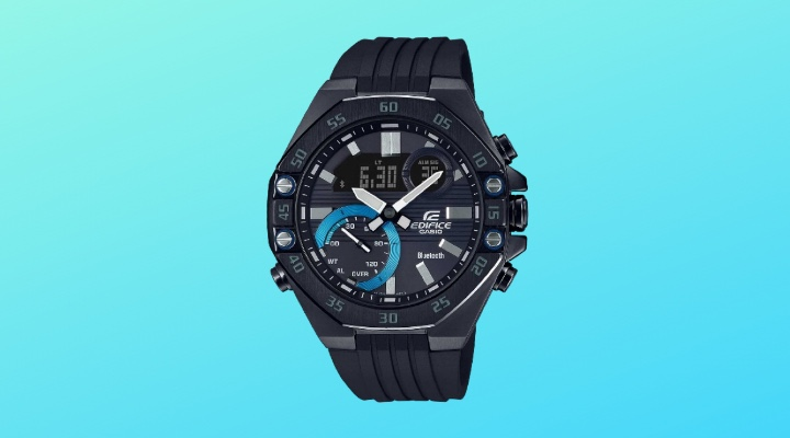 The high-spec, super-slim Edifice - Digital Watch