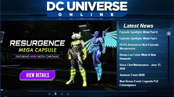 DC Universe Game Online - Exhibit Magazine