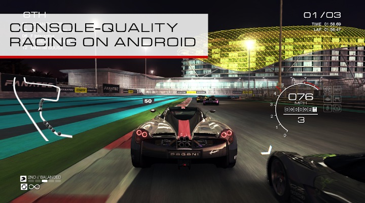 Console Quality Racing On Android - Exhibit Magazine