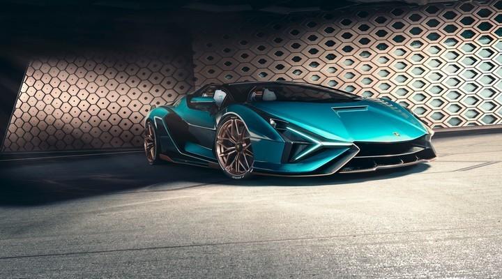 Lamborghini Sián Roadster - Exhibit Magazine