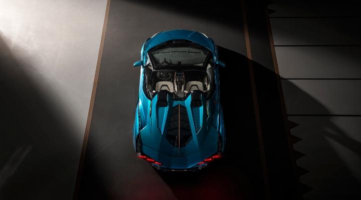 Lamborghini Sián Roadster - Exhibit Tech Magazine Online