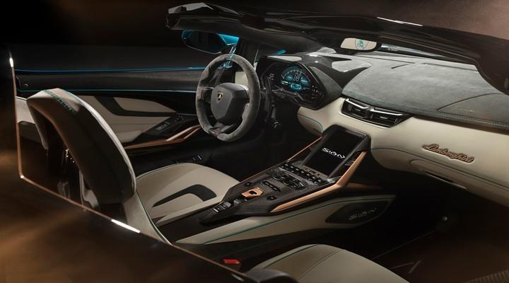 Lamborghini Sián Roadster Dashboard- Exhibit Tech Magazine Online