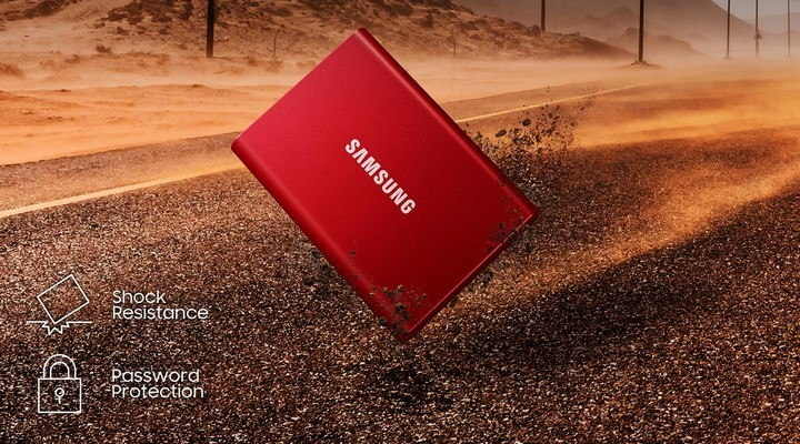 Samsung's Portable SSD T7 Reviewed