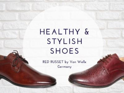 RED RUSSET Shoes: India's first healthy shoes by Von Wellx Germany