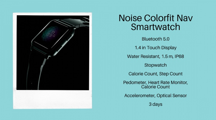 Noise Colorfit Nav Smartwatch - Exhibit Magazine