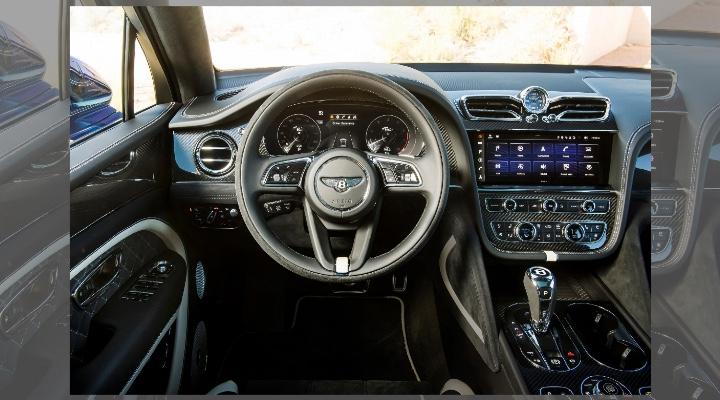 2021 Bentley Bentayga Speed  Interior- Exhibit Magazine India