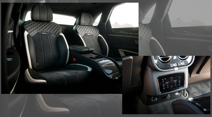2021 Bentley Bentayga Speed  Seating- Exhibit Magazine India