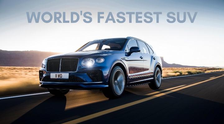 2021 Bentley Bentayga Speed - Exhibit Magazine Online