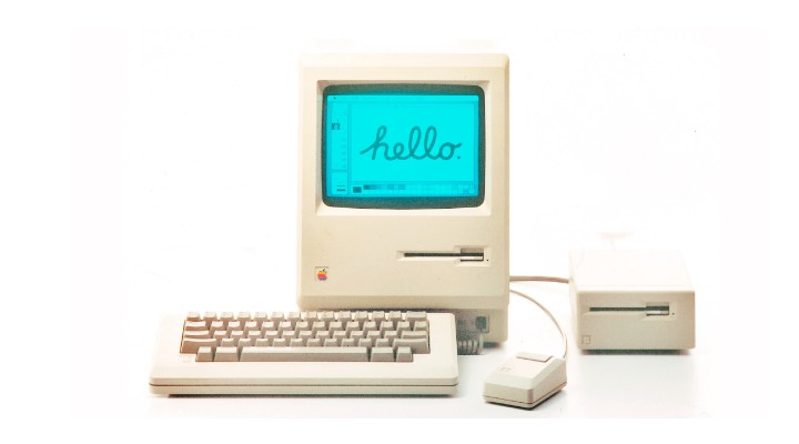 74 Gadgets Exhibit - Apple Macintosh