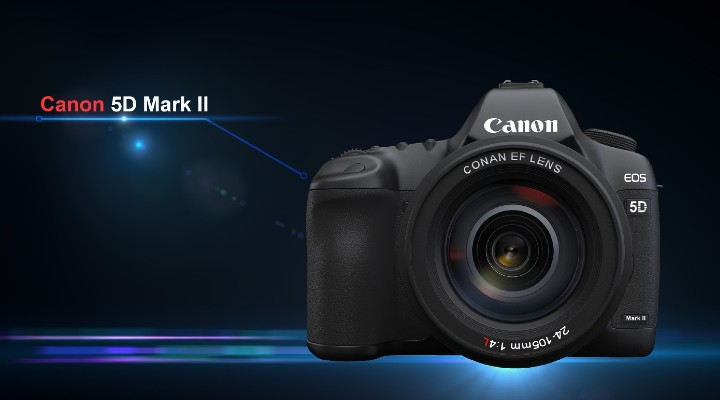 74 Gadgets Exhibit - Canon EOS 5D Mark II