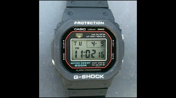 74 Gadgets Exhibit - Casio G-Shock DW-5000C
