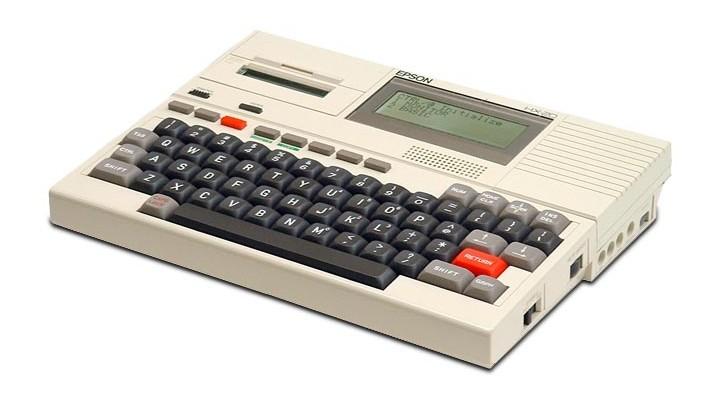 74 Gadgets Exhibit - Epson HX-20
