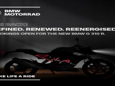 Pre launch bookings of BMW Motorrad G 310 R and the BMW G 310 GS - Exhibit Magazine