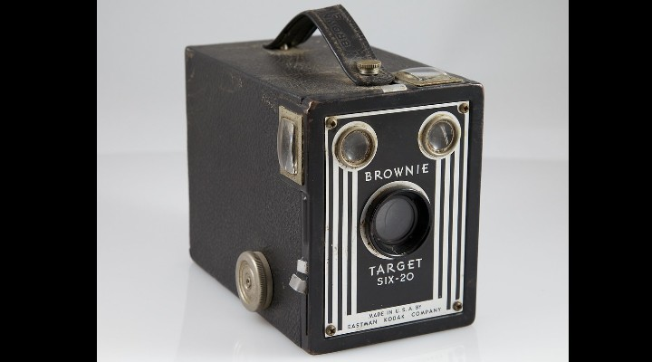 74 Gadgets Exhibit - Kodak brownie camera