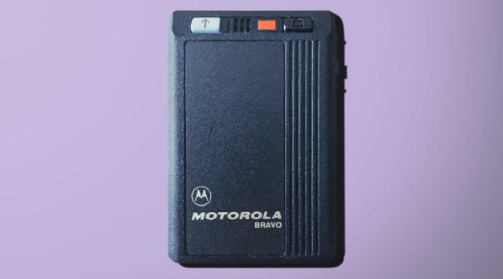 74 Gadgets Exhibit - Motorola Bravo Pager