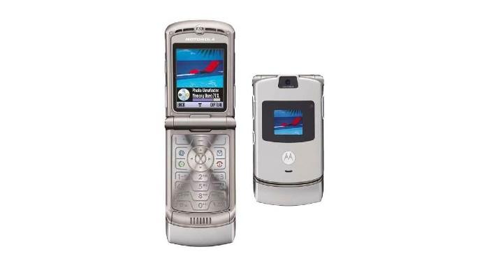 74 Gadgets Exhibit - Motorola Razr V3