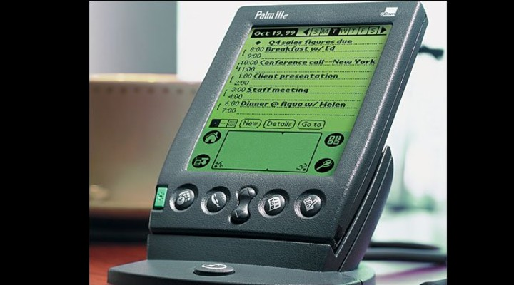 74 Gadgets Exhibit - Palm Pilot 1000