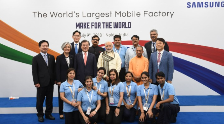 Samsung made in India - Exhibit Tech Magazine