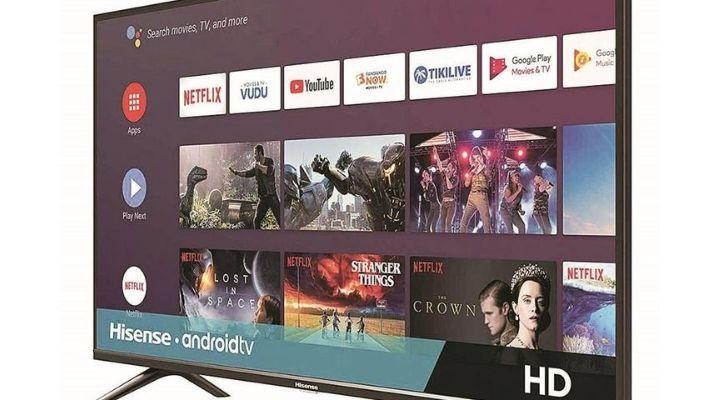 Hisense 55A71F android tv
