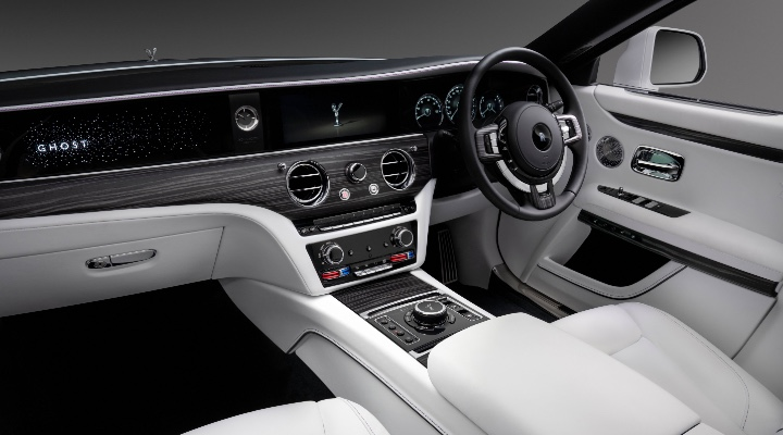 NEW ROLLS-ROYCE GHOST Interior - Exhibit Magazine India