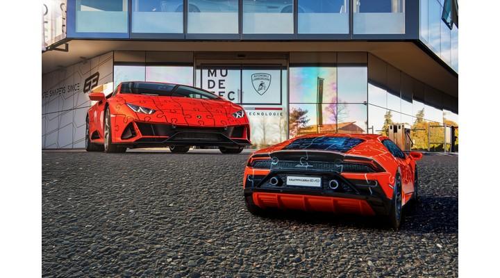 Lamborghini Huracan Evo jigsaw - Exhibit Magazine India