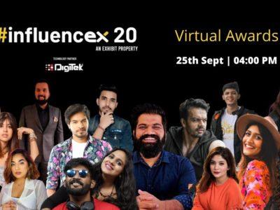 Influencex20 Virtual Awards - Exhibit Magazine