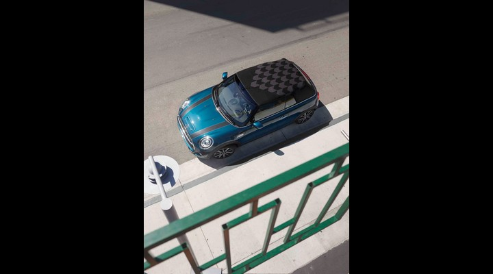 MINI Convertible Sidewalk Edition Parking view - Exhibit Magazine India