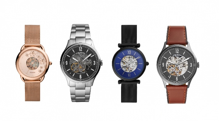 Fossil Automatic watch -Exhibit Magazine
