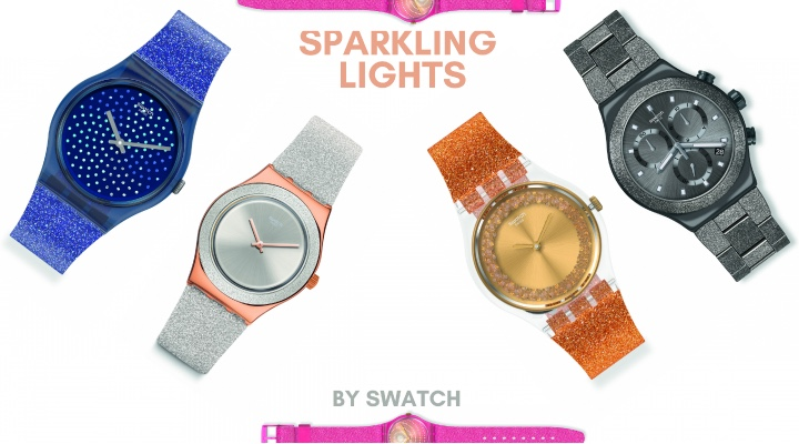 'Sparkling Lights' collection by SWATCH! - Exhibit Tech Magazine India