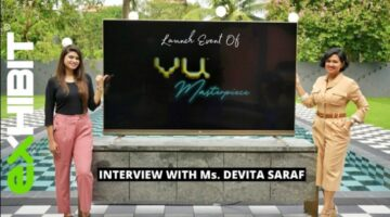 Vu Masterpiece TV Launch   Ms. Devita Saraf Takes Us Through The Idea Behind It