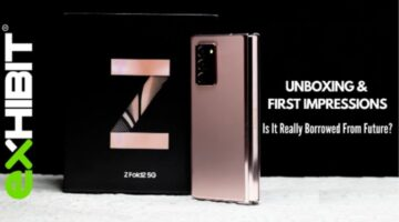 Samsung Galaxy Z Fold2 5G I Unboxing & First Impressions   Borrowed From Future?