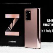Samsung Galaxy Z Fold2 5G I Unboxing & First Impressions