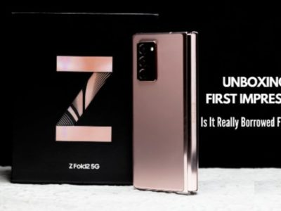 Samsung Galaxy Z Fold2 5G I Unboxing & First Impressions