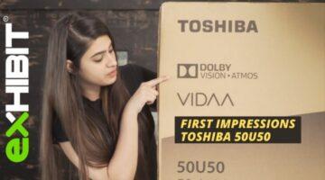 Toshiba 50U5050 4K TV | First Impression
