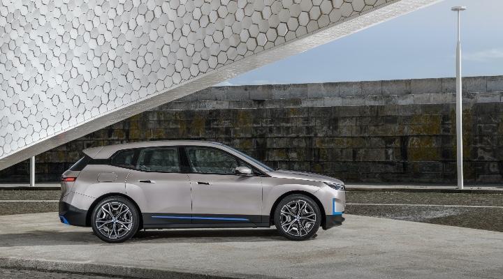 BMW iX Front Image- Exhibit  Magazine