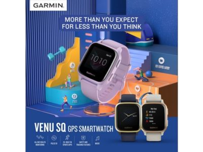 Garmin Venu Sq series - Exhibit Tech Update